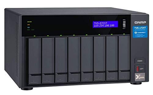 QNAP TVS-872XT-i5-16G-US 8 Bay Thunderbolt 3 NAS with 16GB RAM, 10GbE, M.2 PCIe NVMe SSD slots by QNAP (Image #2)