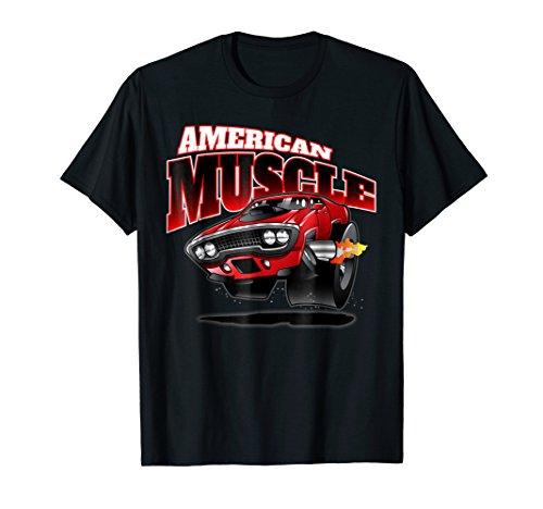 American Muscle Cars Hot Rod Classic Car T-Shirt