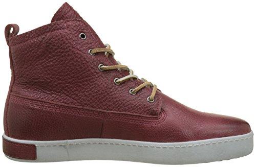 Alto Uomo Sneaker Blackstone Collo Marron Burgundy a Gm06 Burg nqBBgYX