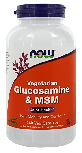 Foods Vegetarian Glucosamine - NOW Foods Glucosamine & MSM VCaps