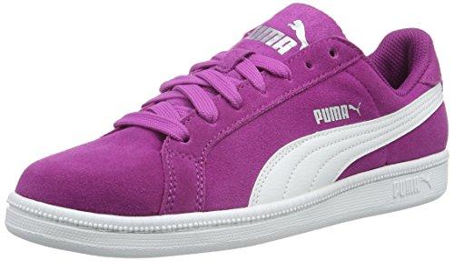Puma Puma Smash Fun Sd - Zapatillas Unisex Niños Morado - Violett (Hollyhock-puma White 03)