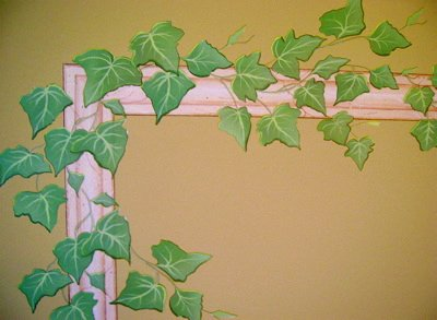 English Ivy Vine Rub on Transfer Mural Wall Tattoo 4 Sheets of (Custom Rub On Transfers)