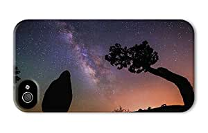 Hipster girly iPhone 4S covers stars night sky PC 3D for Apple iPhone 4/4S