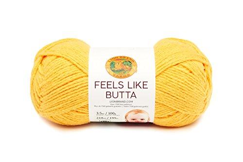 Lion Brand Yarn 215-156 Feels Like Butta Yarn, Mint