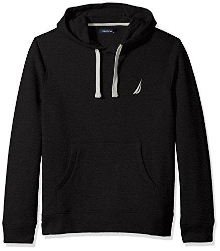 Nautica Men's Chest Logo Pullover Hoodie Sweater, -true b...
