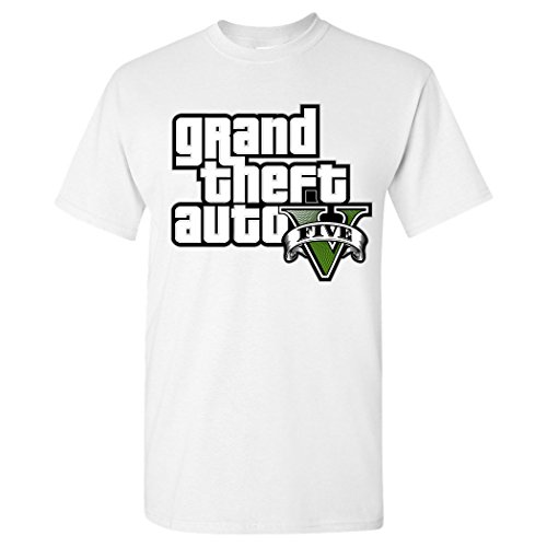 Price comparison product image Grand Theft Auto V Five Men's 100 Cotton T-Shirt