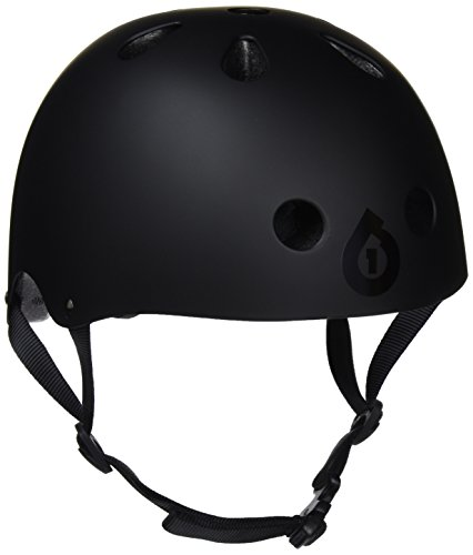 SixSixOne Dirt Lid Stacked Helmet (Matte Black/Black, One ()