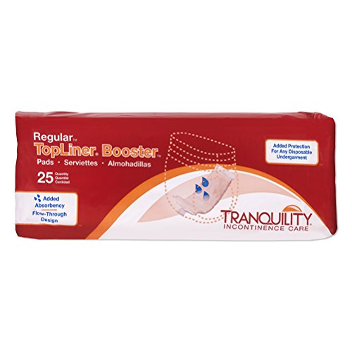 "Tranquility TopLiner® Disposable Booster Pads - Regular (14"" x 4"") - 100 ct"