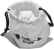 1 Gym Chalk Powder Ball - 100% Magnesium Carbonate Chalk Powder Ball - Refilled and Resealable Bag - Protectiv