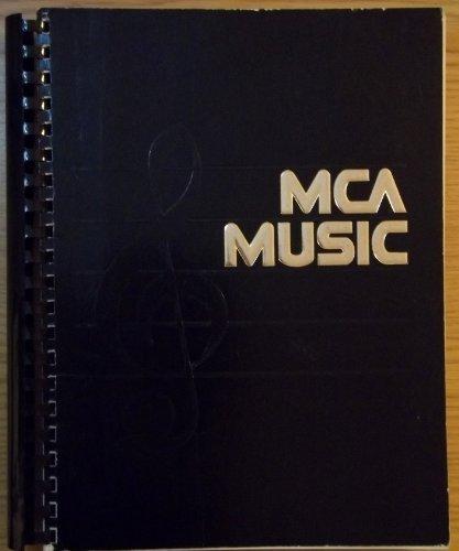 MCA Music: Catalog Of MCA Sheet Music 1920-1980