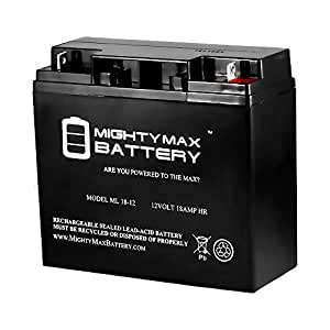 12V 18AH Battery Replaces Summit SFC-300 Fire Alarm Control Panel - Mighty Max Battery brand product