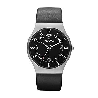 Skagen Men's 233XXLSLB Black Watch (B0012OQZJS) | Amazon Products