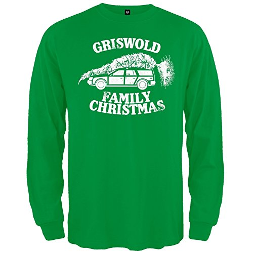 Christmas Vacation - Griswold Family Christmas Long Sleeve - X-Large (Griswold Merchandise compare prices)