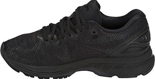 ASICS Women's Gel-Nimbus 20 Running Shoe, black/black/carbon, 5.5 Medium US by ASICS (Image #1)