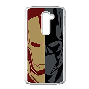Batman and Iron Man Cell Phone Case for LG G2