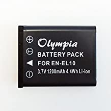 Replacement for Casio Exilim EX-S5 Battery for Digital Camera - Olympia Lithium Ion Replacement Battery
