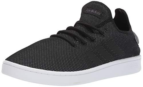 adidas Men's Court Adapt, Black/Grey, 12 M US