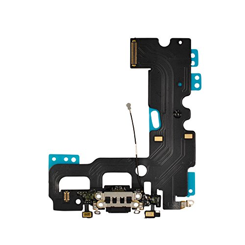 by Walking Slow-Charging Port Lighting Connector Headphone Jack Dock Flex Cable Mic Antenna Replacement for iPhone 7 and iPhone 7Plus (iPhone7(4.7