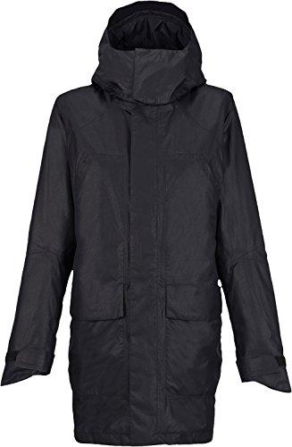 Iridescent Taffeta Coat - BURTON NUTRITION Burton Women's Spellbound Gore-Tex Jacket, True Black Leather Emboss, Medium