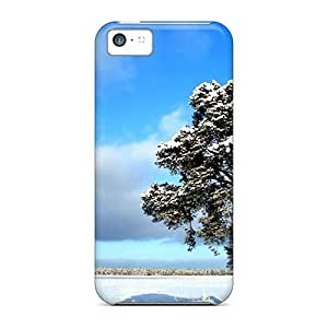 Awesome Frozen Tundra Flip Case With Fashion Design For ipod touch 4 touch 4