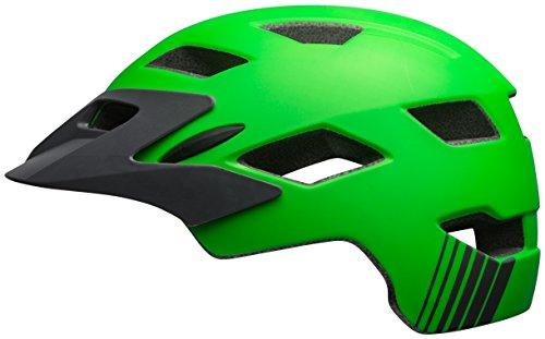 Bell Sidetrack Youth Bike Helmet - Kid's Matte Kryptonite/Titanium