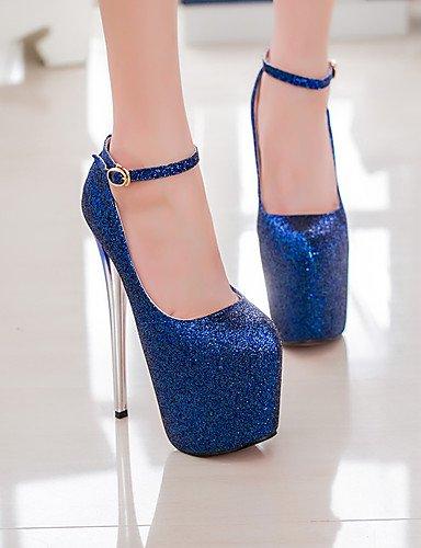 red GGX pie del dedo cn39 del de de redondo de Bombas atractivo de más zapatos de 19 de altura talón del cn41 dark blue eu40 uk7 uk6 us9 us8 zapatos mujer cm del fiesta eu39 cn39 us8 uk6 eu39 talón aguja red UwFrUqZ