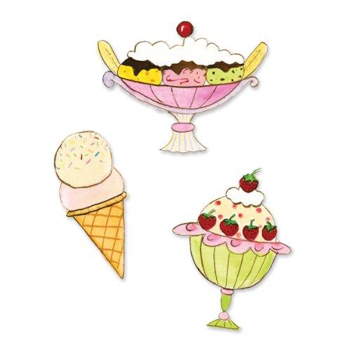 Sizzix(R) Sizzilts Die Set - Small Ice Cream ()