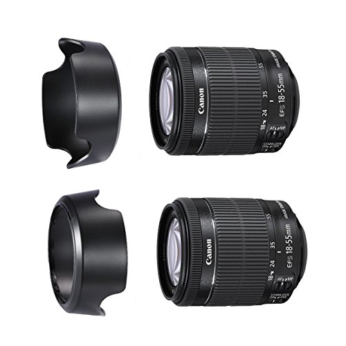 CamDesign HB-54 Dedicated Reversible Lens Hood Compatible with Nikon 18-135mm DX, 18-70mm f/3.5-4.6G Lens (replaces Nikon HB-32)