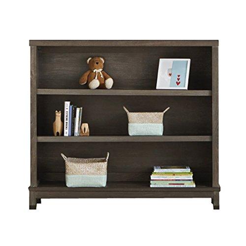 Dwellstudio Beckett Convertible Hutch Bookcase, Washed Grey