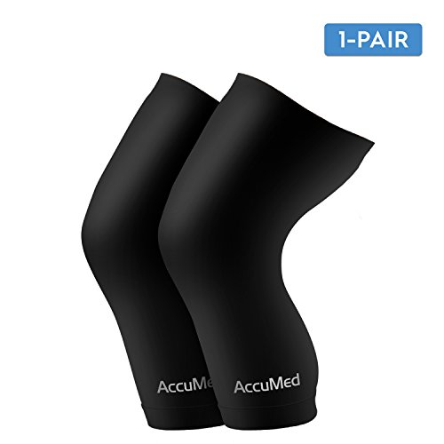 AccuMed Copper Compression Knee Sleeve – Made With Real Copper-E – DiZiSports Store
