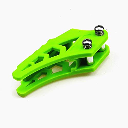 Amyli Chain Slider Guide Chain Guard Adjuster for CRF50 CRF70 BBR TTR Dirt Bike Green ()