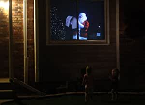 Santa At My Window, Rear Projection Screen Material & DVD