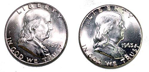 1963 P&D Franklin Half Dollar BU ()