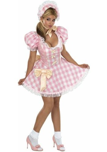 Little Bow Peep Costume Women (Bo Peep Adult Costume - Small)