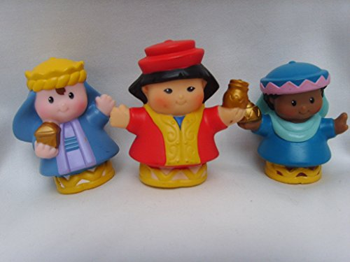 (Fisher Price Little People Wisemen Set of 3 Replacement Wise Men Figures )