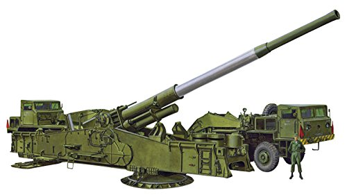 Dragon Models 1/72 M65 Atomic Annie Gun, Heavy Motorized 280mm Vehicle Model Building Kit (Atomic Cannon)