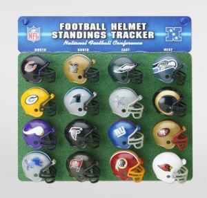 Riddell Pro Football Helmet Playoff Tracker (Football Tracker)