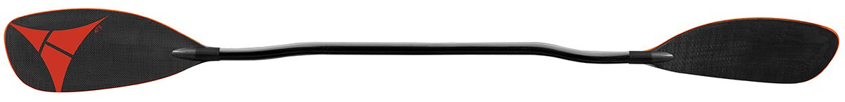 Adventure Technology at5 Carbon Bent Whitewater Kayak Paddle, 197cm/One Size, Black