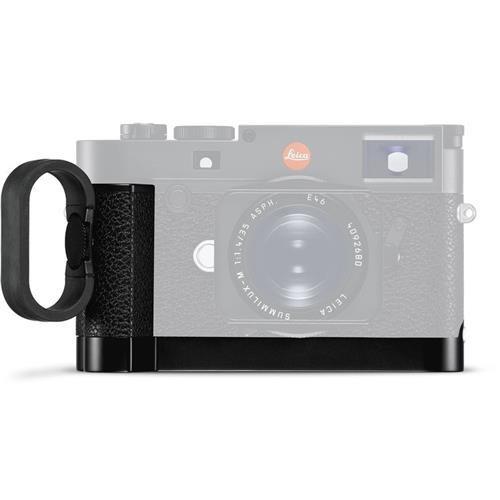 - Leica Hand Grip for M10 Digital Camera, Black