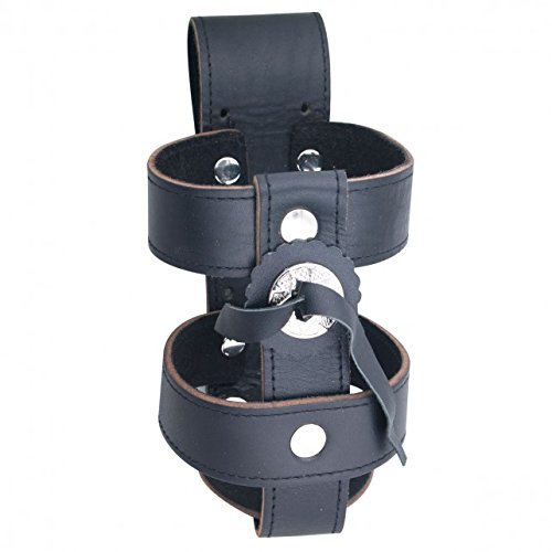 Hot Leathers, Officially Licensed High Quality, Drink Bottle Holder ( Leather) (Belt Licensed Officially)