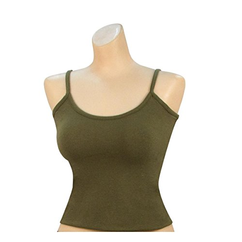 Rothco Women's Casual Tank Top, Olive Drab, Medium (Ladies Olive Drab)