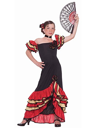 Forum Novelties Flamenco Girl Child's Costume, Small (2)
