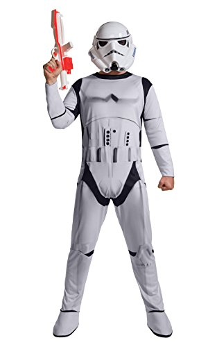 Rubie's Star Wars Men's Classic Stormtrooper Costume, White, X-Large