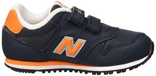 New Balance Baby footwear-navy/grün/weiß, Gr. 4,5 Navy/Orange/White