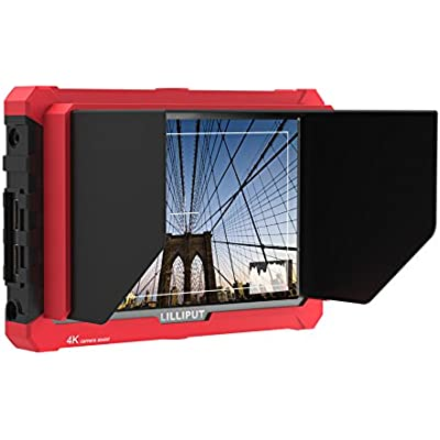 LILLIPUT A7S inch HDMI Input Loop output Full 1920 1200 IPS Panel top camera monitor support Canon mark II  mark III  mark Nikon Sony  7s II