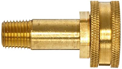 Anderson Metals Brass Garden Hose Fitting, Swivel, NPT Female Hose ID x GHT Male