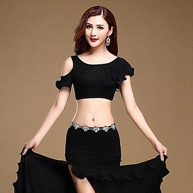 Tanz-Outfit WUDAOFU AustattungenBaumwolle ModalDamen Rock Oberteil Kurze Ärmel Normal B07411Q3WT Bekleidung Bekannt für seine gute Qualität