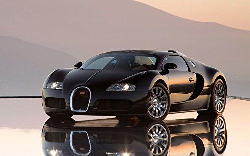039 Bugatti Veyron 38x24 inch Silk Poster Aka Wallpaper Wall Decor By - Technology Bugatti Veyron