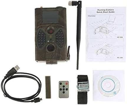 12MP Photo Traps Email MMS/GPRS/SMTP 1080P Night Vision Hunting Traps HC300M Hunting Camera Trail Camera Wildlife Camera Traps