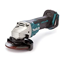 Makita DGA455Z 18V LXT Brushless 4-1/2-Inch Grinder, Paddle Switch, Tool only